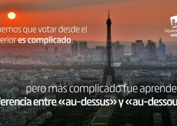 IU Exterior llama a la ciudadanía en el exterior a rogar el voto en las próximas elecciones pese a las trabas del Gobierno