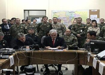 Pdte. Piñera: Estamos en guerra contra un enemigo poderoso
