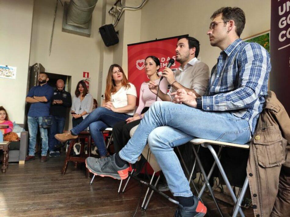 """Alberto Garzón valora que """"todo está muy abierto"""" y destaca que el macrosondeo del CIS arroja """"buena información bruta a nivel académico pero poca a nivel social"""""""