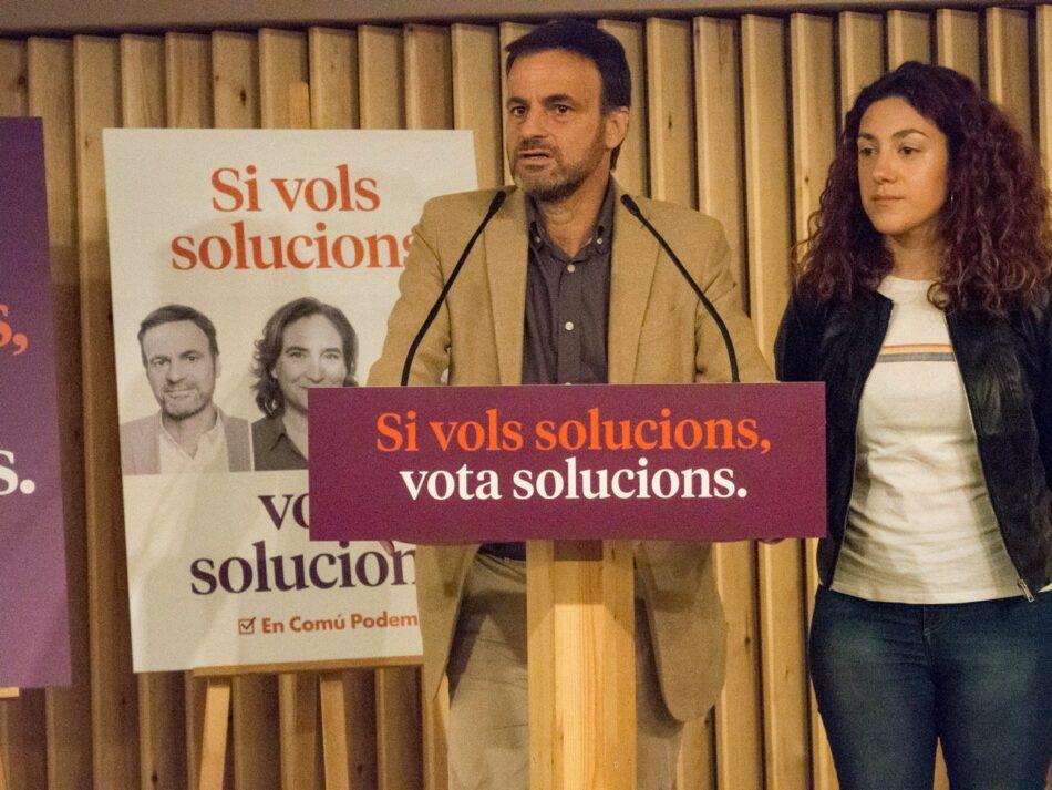En Comú Podem es presenta com la papereta de la llibertat, el diàleg i les solucions en el seu espot electoral