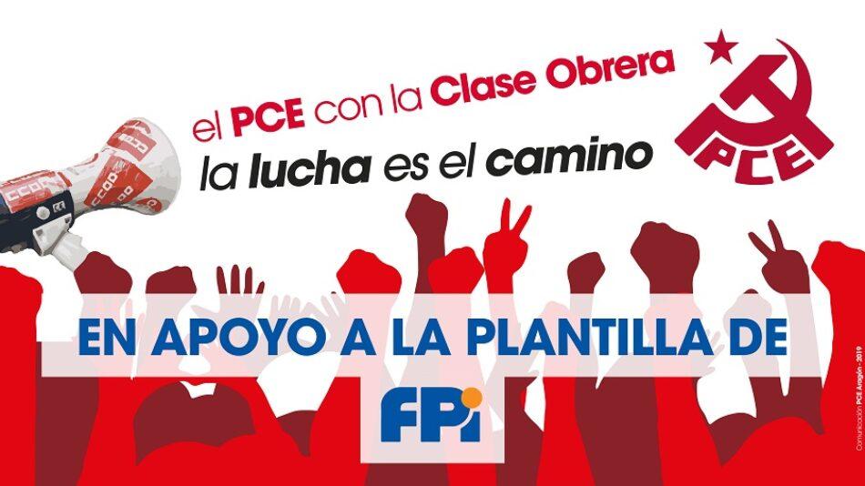 «No a los despidos en Future Pipe Industries»