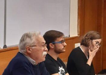 Ayer, en la Universidad Carlos III: «Contra la represión: Libertad, amnistía y autodeterminación»