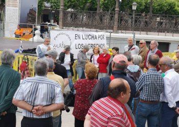 Pensionistas Complutenses se unirá en Villaverde a la Columna Sur procedente de Rota que camina a Madrid por la defensa del Sistema público de Pensiones