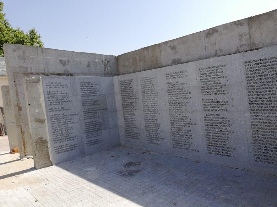 Concentración en Defensa del Memorial del cementerio del Este de Madrid: 2 de Noviembre