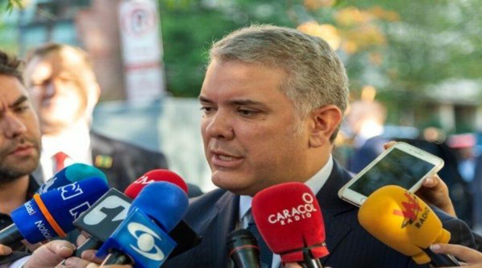 Convocan en Colombia protesta contra reforma económica de Duque