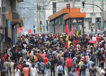 Nuevas marchas en Ecuador contra medidas económicas del gobierno
