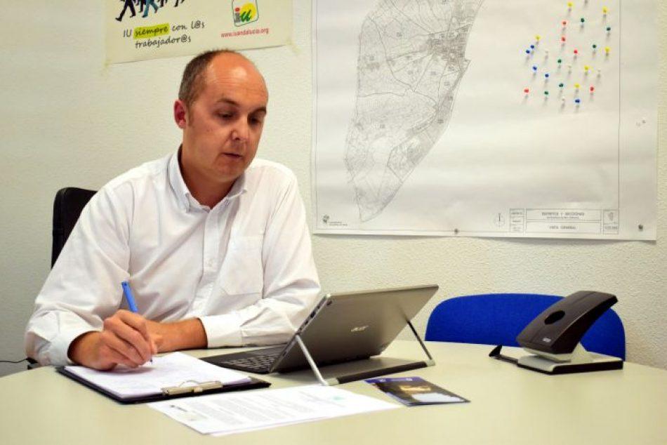 El grupo municipal IU-TD-EQ de Roquetas se querella contra PP y Vox por presunta prevaricación