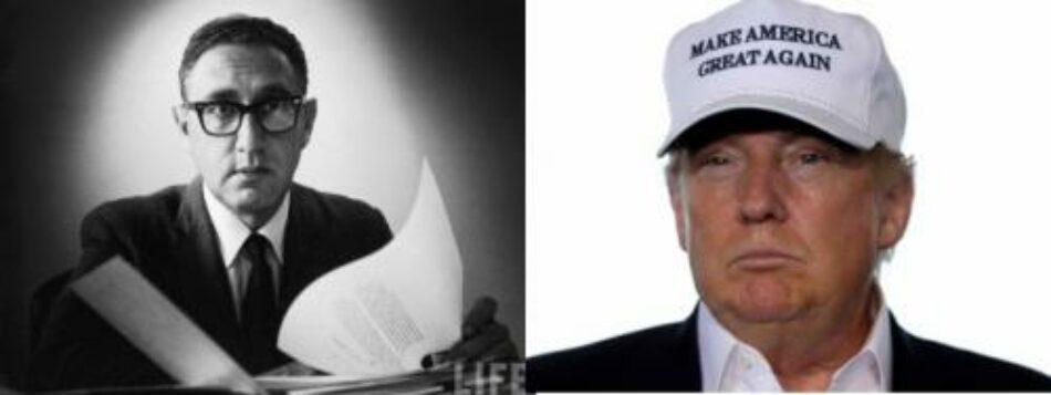Trump y Kissinger, los grandes disruptores