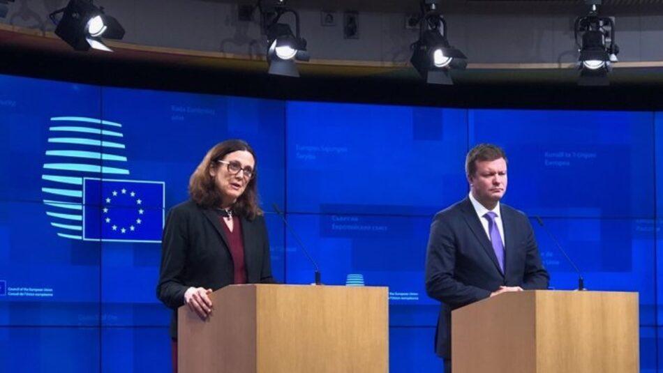 La Unión Europea anuncia que responderá a la ofensiva arancelaria de EEUU