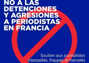 CNT-Prensa de Madrid contra las detenciones y agresiones a periodistas en Francia