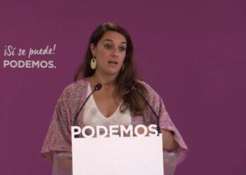 Noelia Vera: «Los bancos tienen que devolver el dinero que les hemos prestado»