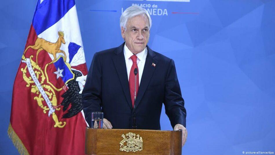 Piñera propone la dimisión en bloque de todos los ministros del gobierno para esquivar la crisis