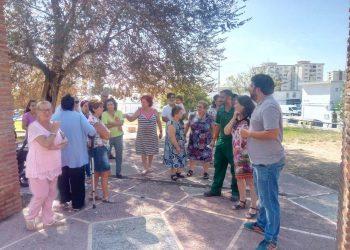 Adelante Jerez denuncia el abandono de la barriada del Polígono San Benito