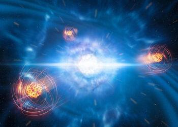 Primera detección de un elemento pesado recién nacido en el espacio