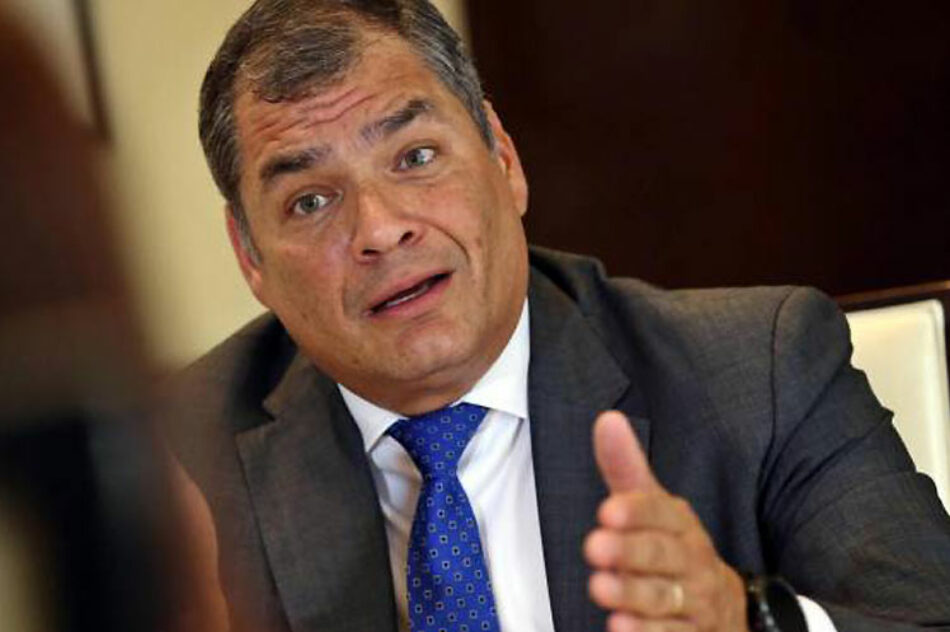 Alerta Rafael Correa sobre crisis por proyecto económico en Ecuador
