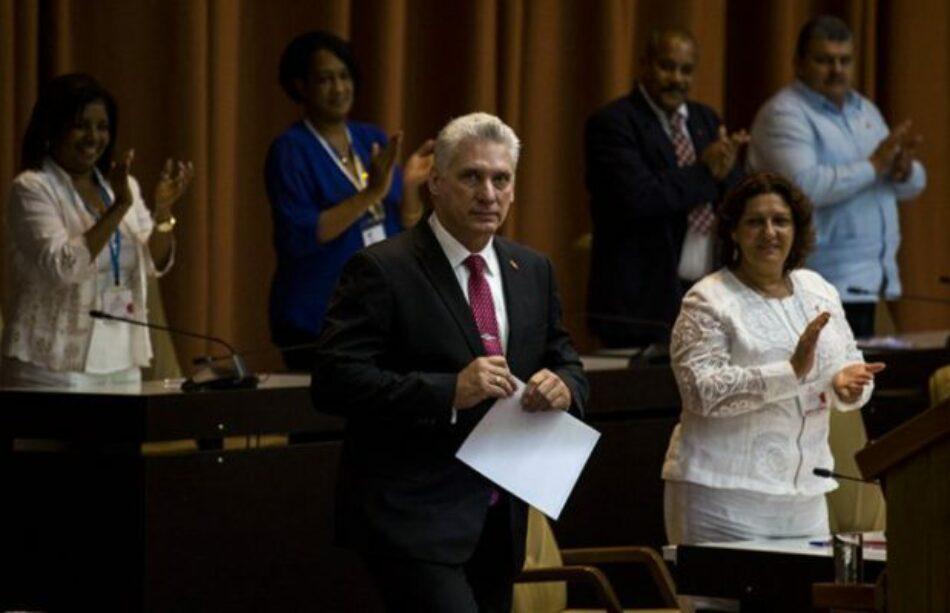 Cuba. Elegido Miguel Díaz-Canel como Presidente de la República: Discurso del Jefe de Estado