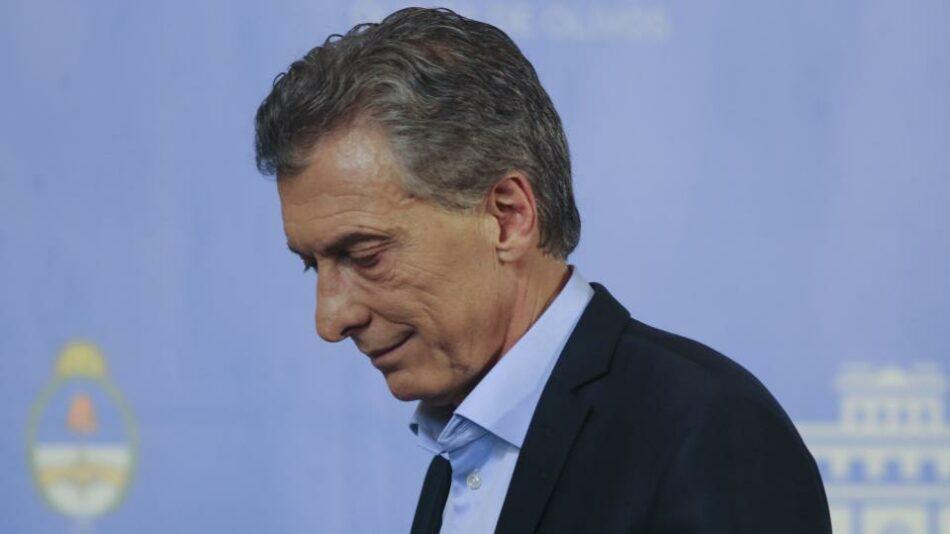 Octubre y el ocaso del empresario Mauricio Macri