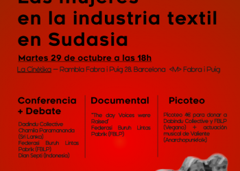 Jornada: «Las mujeres en la industria textil en Sudasia»