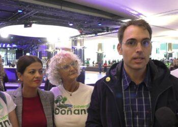 IU reclama a la Comisión Europea un equipo de trabajo permanente en Doñana y alerta de que Bruselas ve el proyecto de Gas Natural como un nuevo Caso Castor