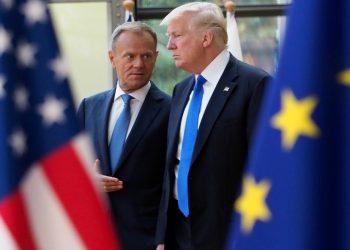 La ofensiva arancelaria de EEUU a la UE amenaza la principal arteria del comercio mundial