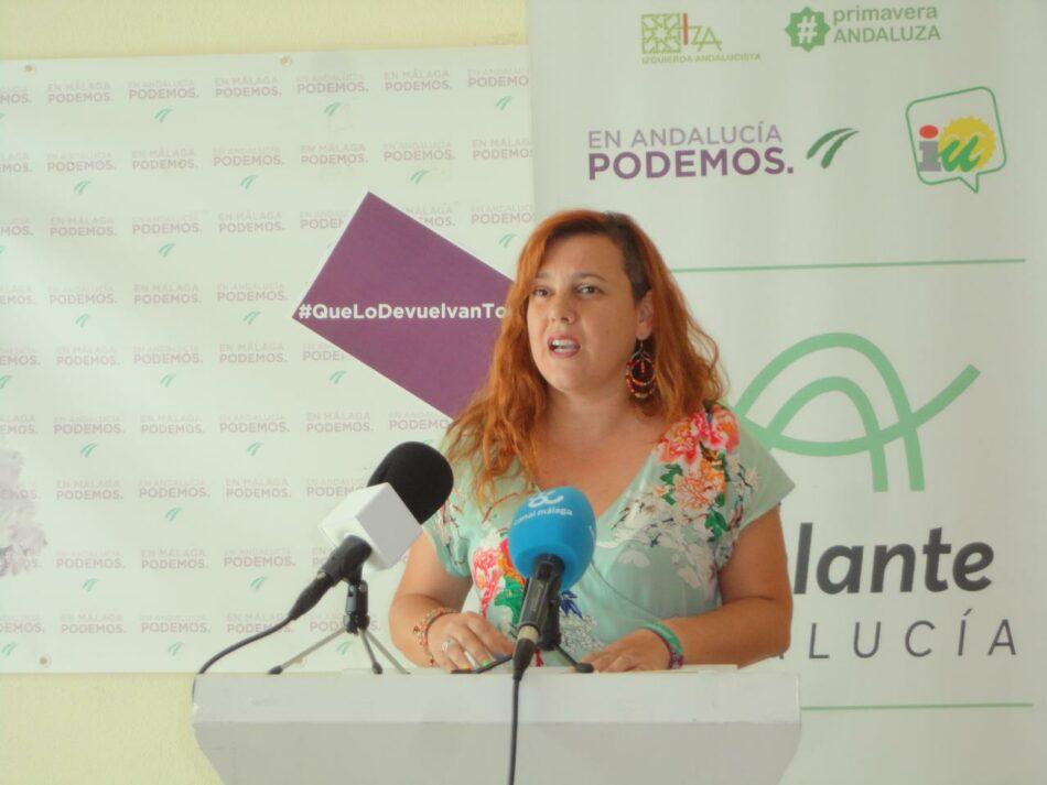 Adelante exige a la Junta que no entierre el Plan Andaluz de la Bicicleta
