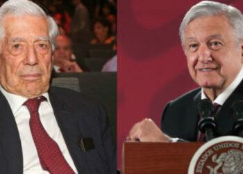 """""""AMLO es la resurrección del PRI"""", dice Vargas Llosa y el presidente le responde"""