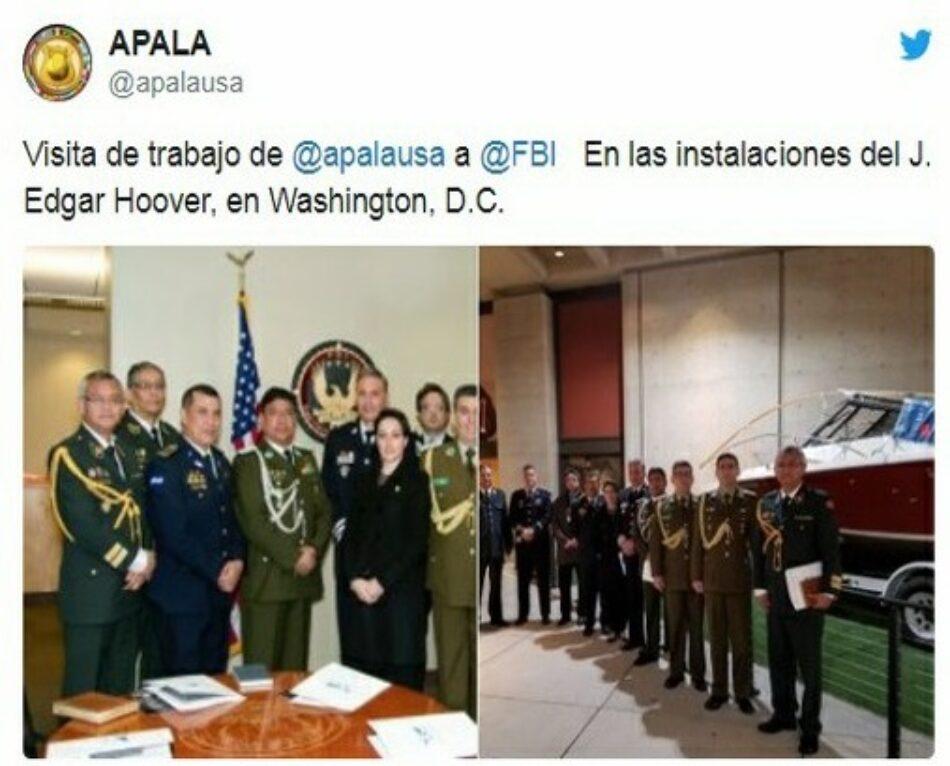 Ejército de EE.UU. entrenó a golpistas en Bolivia