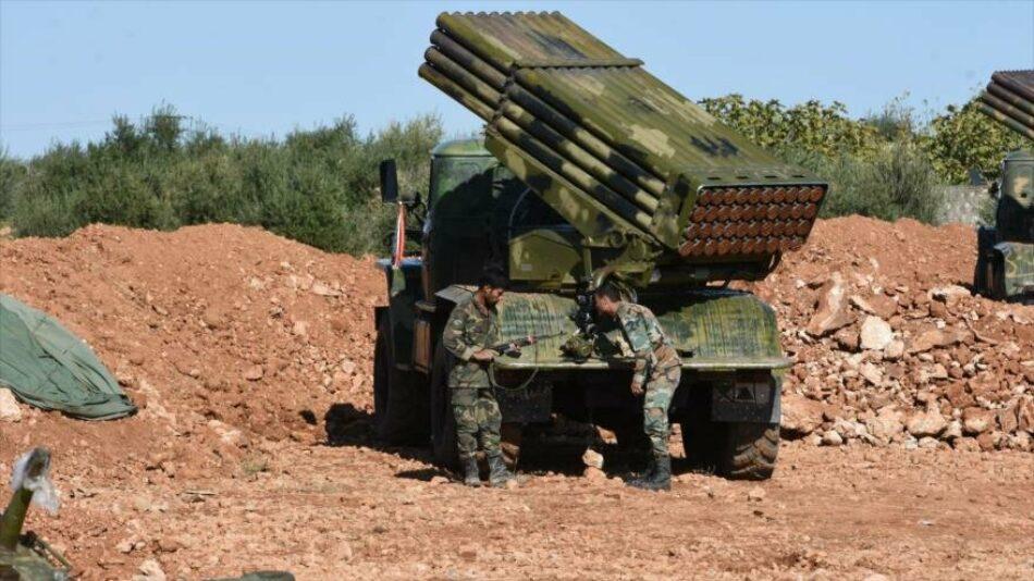 Ejército sirio intensifica ataques en Idlib y recupera otra ciudad