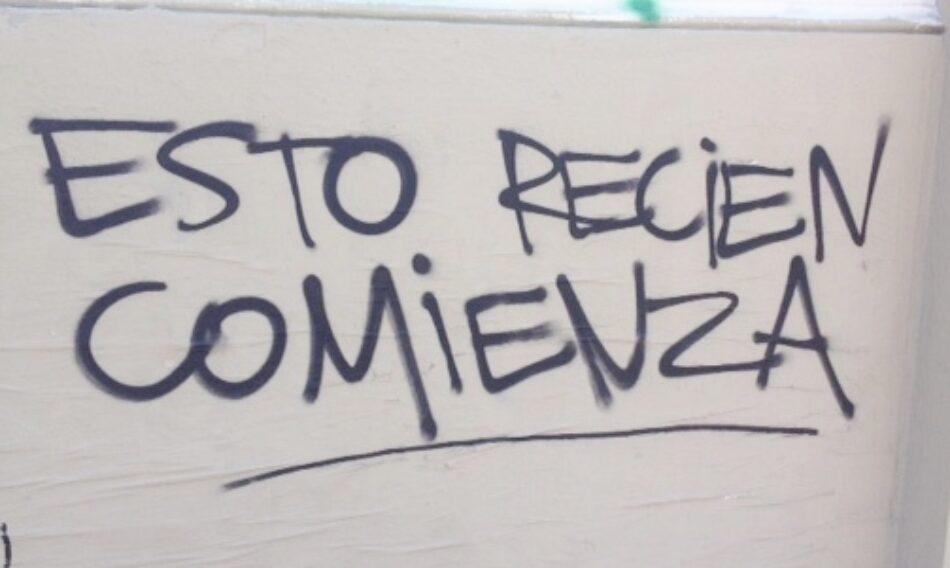 """Chile. Asambleas Populares: """"Estamos por una nueva sociedad proveniente desde abajo"""""""