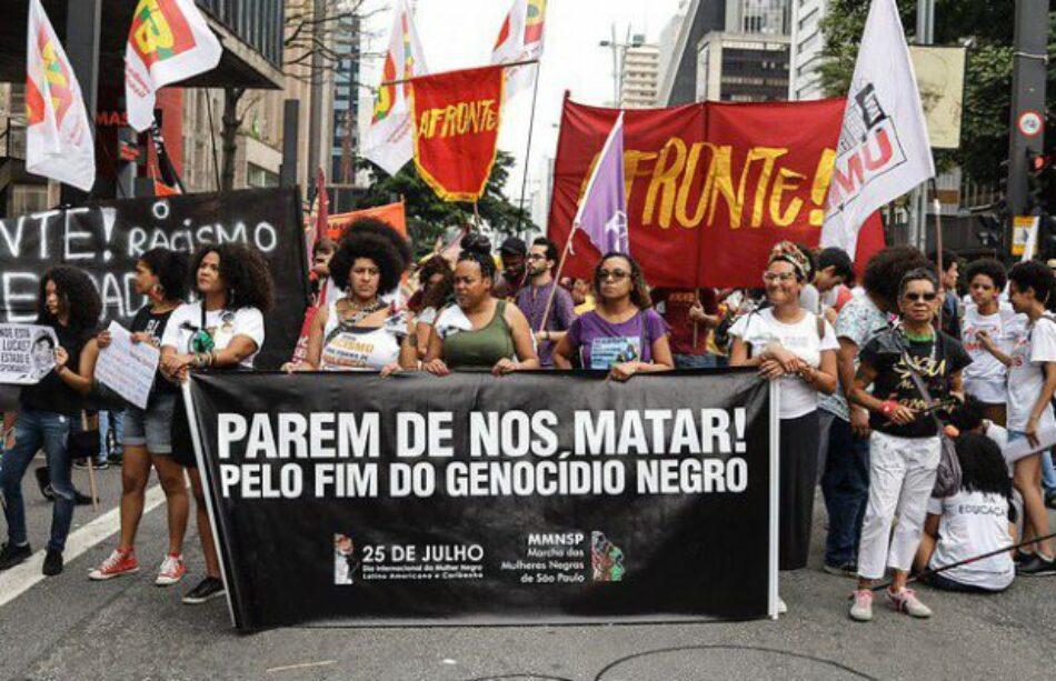 Brasil. Día de la Conciencia Negra: marchan por sus derechos y fin del genocidio