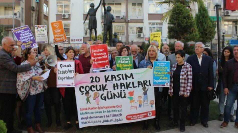 Informe: 3.000 niños en cárceles turcas