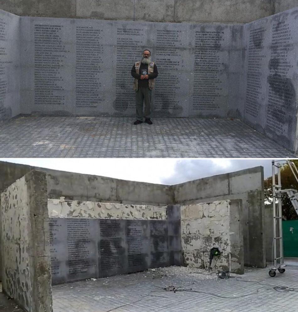 Mauricio Valiente: «recuperaremos este Memorial más temprano que tarde»