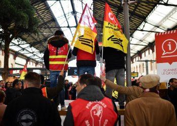 Diciembre caliente en los ferrocarriles europeos
