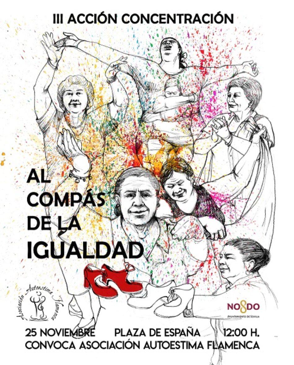 Llamamiento III Acción Concentración «Al Compás de la Igualdad»
