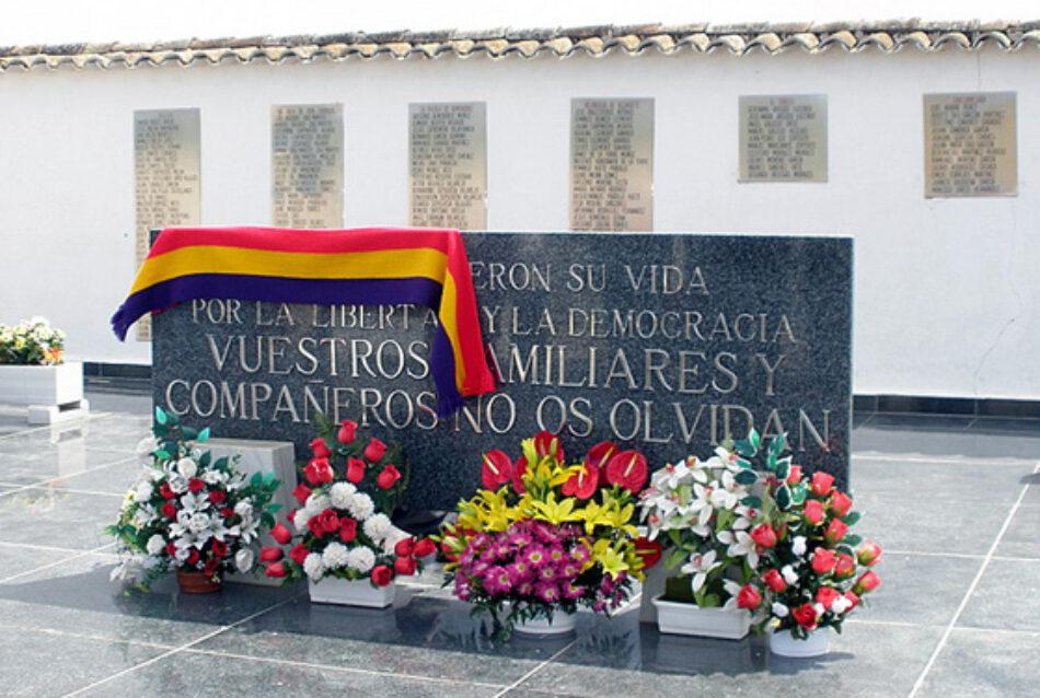 Unidas-Izquierda Unida-Podemos Quintanar y el Foro por la Memoria de Toledo condenan el homenaje a Franco previsto para el 20-N