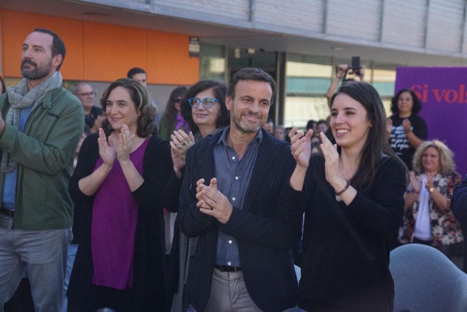 """Asens: """"Només hi ha dues opcions si el PSOE vol governar: o Sánchez és president amb Cayetana o amb Irene Montero"""""""