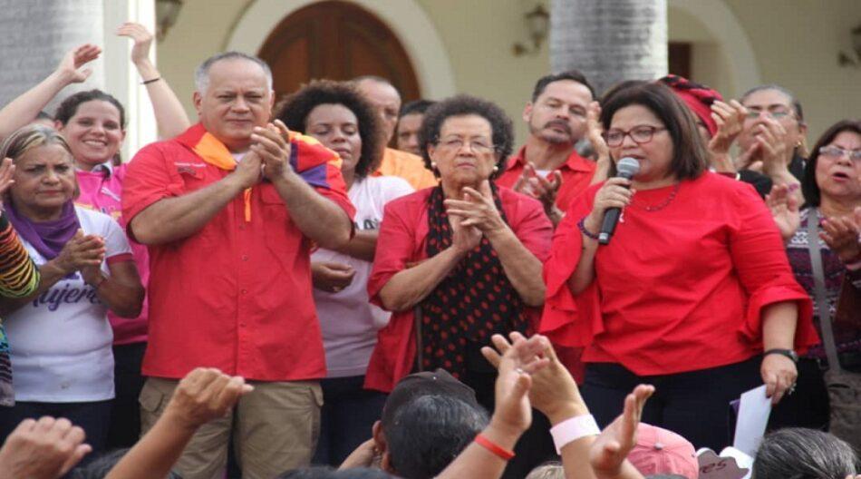 Ministra Asia Villegas: solicitamos a la ANC reformar Ley Orgánica sobre el Derecho de las Mujeres a una Vida Libre de  Violencia