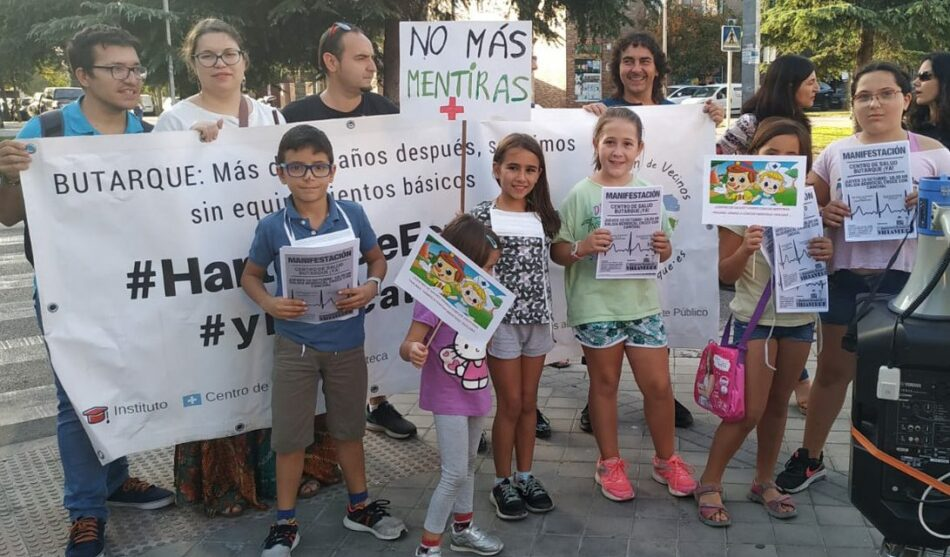 Butarque (Villaverde) sale a la calle de nuevo para exigir un centro de salud que reivindica desde hace doce años