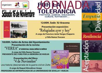Día Internacional para la Tolerancia: jornadas en Aracena