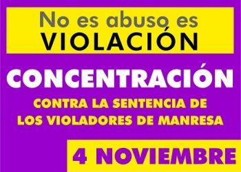 La Plataforma 8M de Toledo se concentra en Zocodover contra la sentencia de los violadores de Manresa
