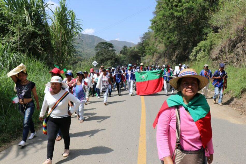 Comunidades indígenas rechazan la militarización del Cauca colombiano