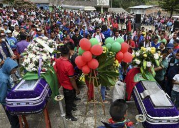 Un nuevo asesinato eleva a doce la cifra de víctimas de la violencia de la última semana en Cauca, Colombia