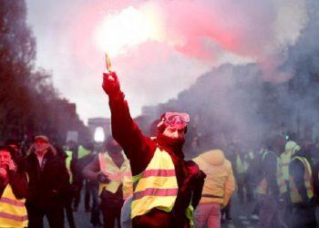 Los chalecos amarillos cumplen un año de movilizaciones en Francia