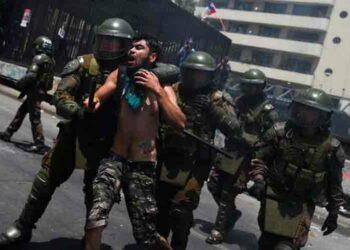 A pesar de llamados a la paz la represión impera en Chile