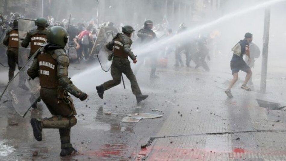 Chile: más de 26 mil personas detenidas durante protestas