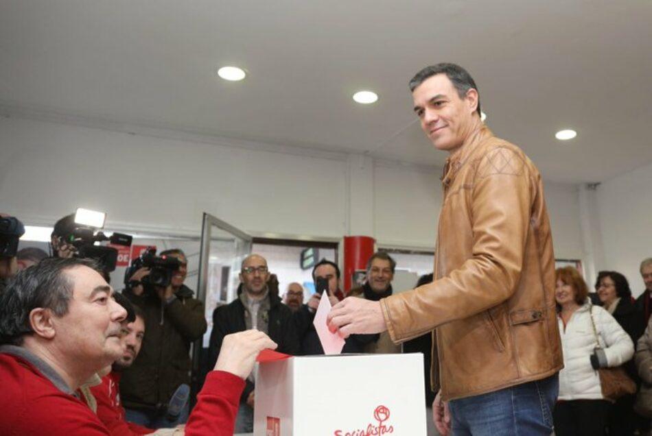 La militancia del PSOE respalda la formación de un gobierno de coalición con Unidas Podemos