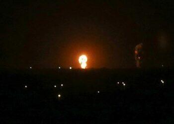 Palestina. Cazas israelíes realizan ataques nocturnos contra posiciones de la resistencia en Gaza