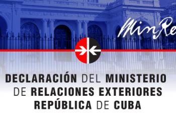 Cuba demanda que cese la instigación a la violencia contra los colaboradores de la salud en Bolivia