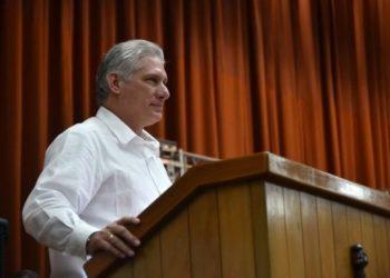 Díaz-Canel en el Encuentro Antimperialista: La historia solo pueden cambiarla los pueblos