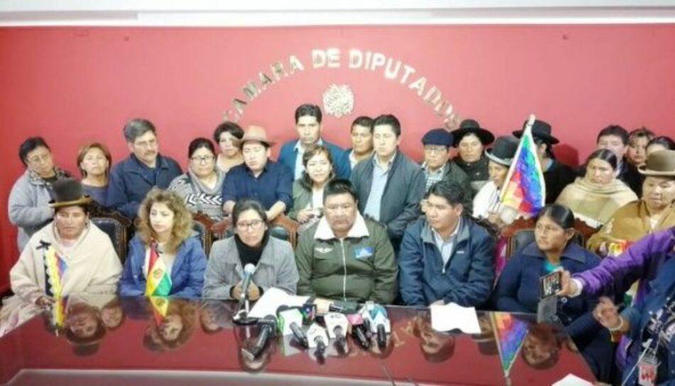 Diputados bolivianos trabajan en nuevo cronograma electoral